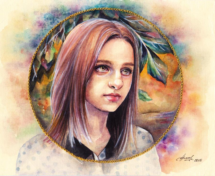 Angelina Reychinova by Artilin