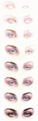 tutorial eyes by Artilin