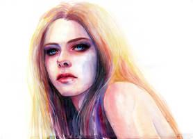Avril Lavigne by Artilin