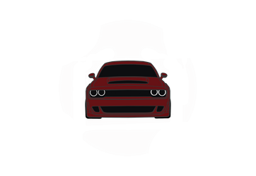 Dodge Challenger SRT Demon (Front)