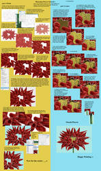 PS Flower painting tut 1 by WarpedOrbit
