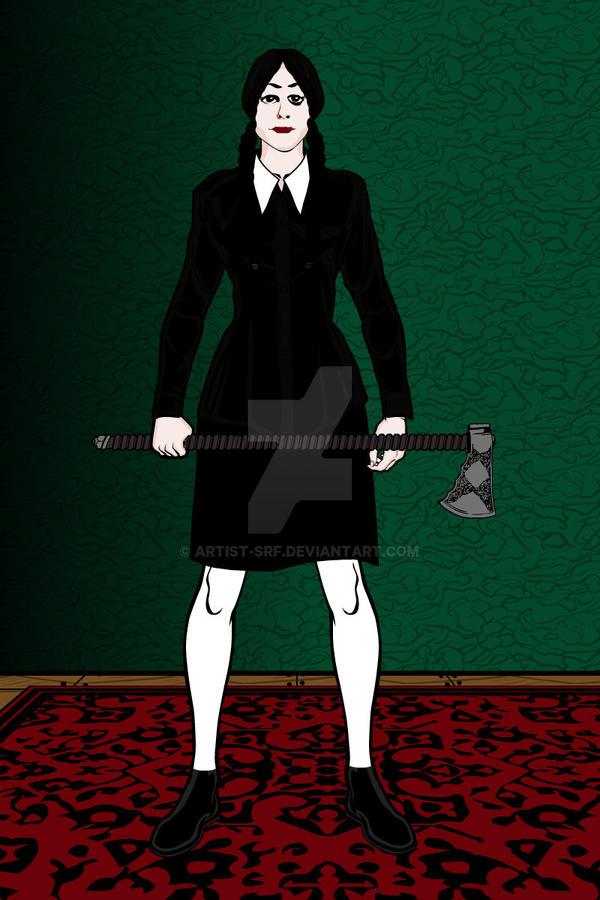 Heromachine: Adult Wednesday Addams by ARTIST-SRF