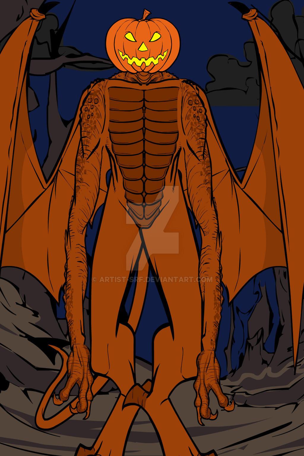 Heromachine: Pumpkinhead by ARTIST-SRF