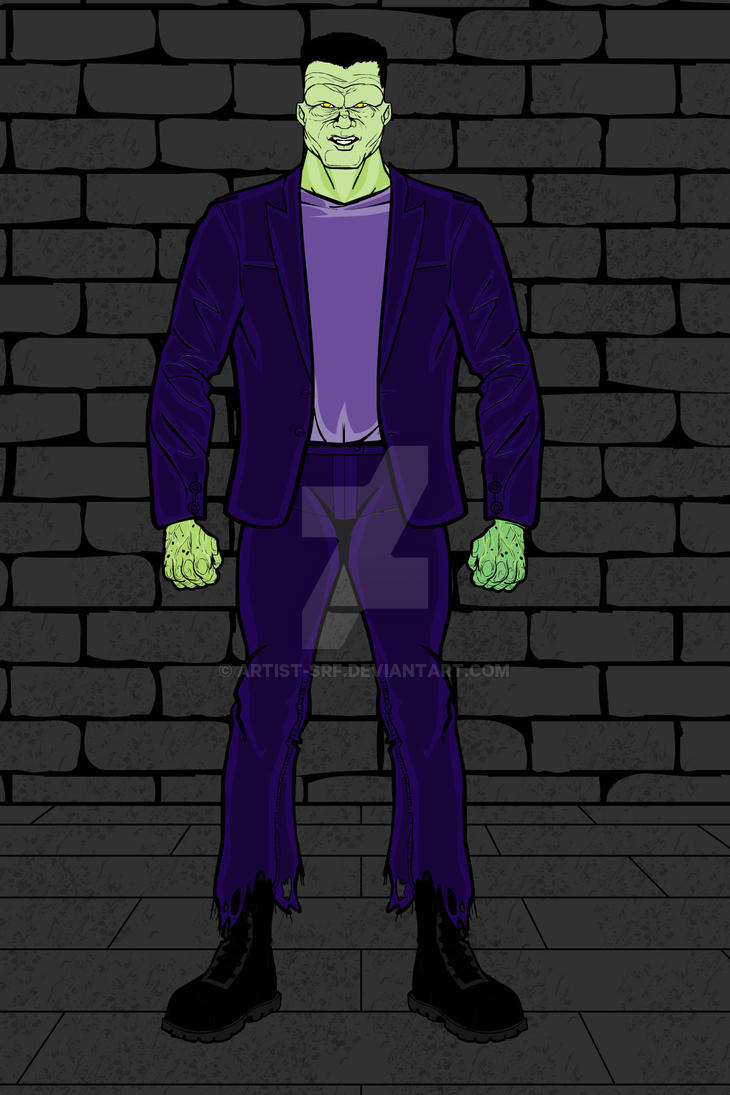 Heromachine: The Monster (Scooby Doo version) by ARTIST-SRF