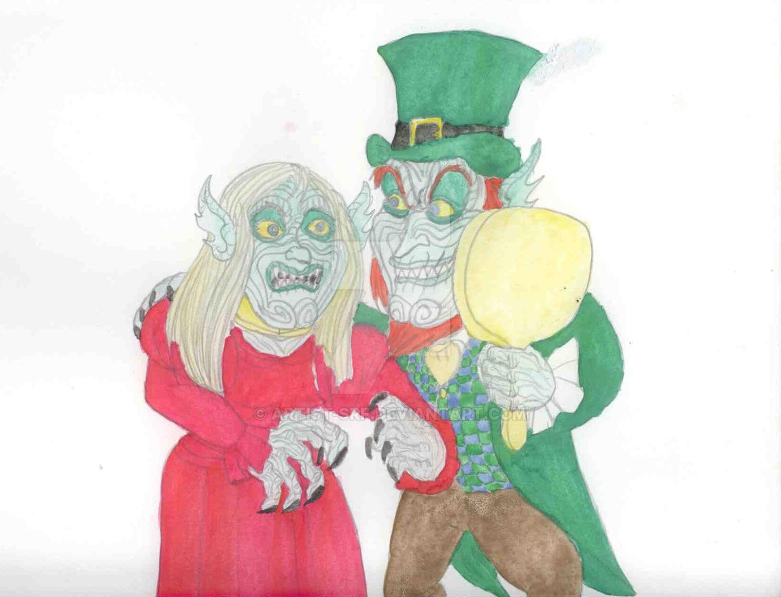 bride of leprechaun by artist srf on deviantart