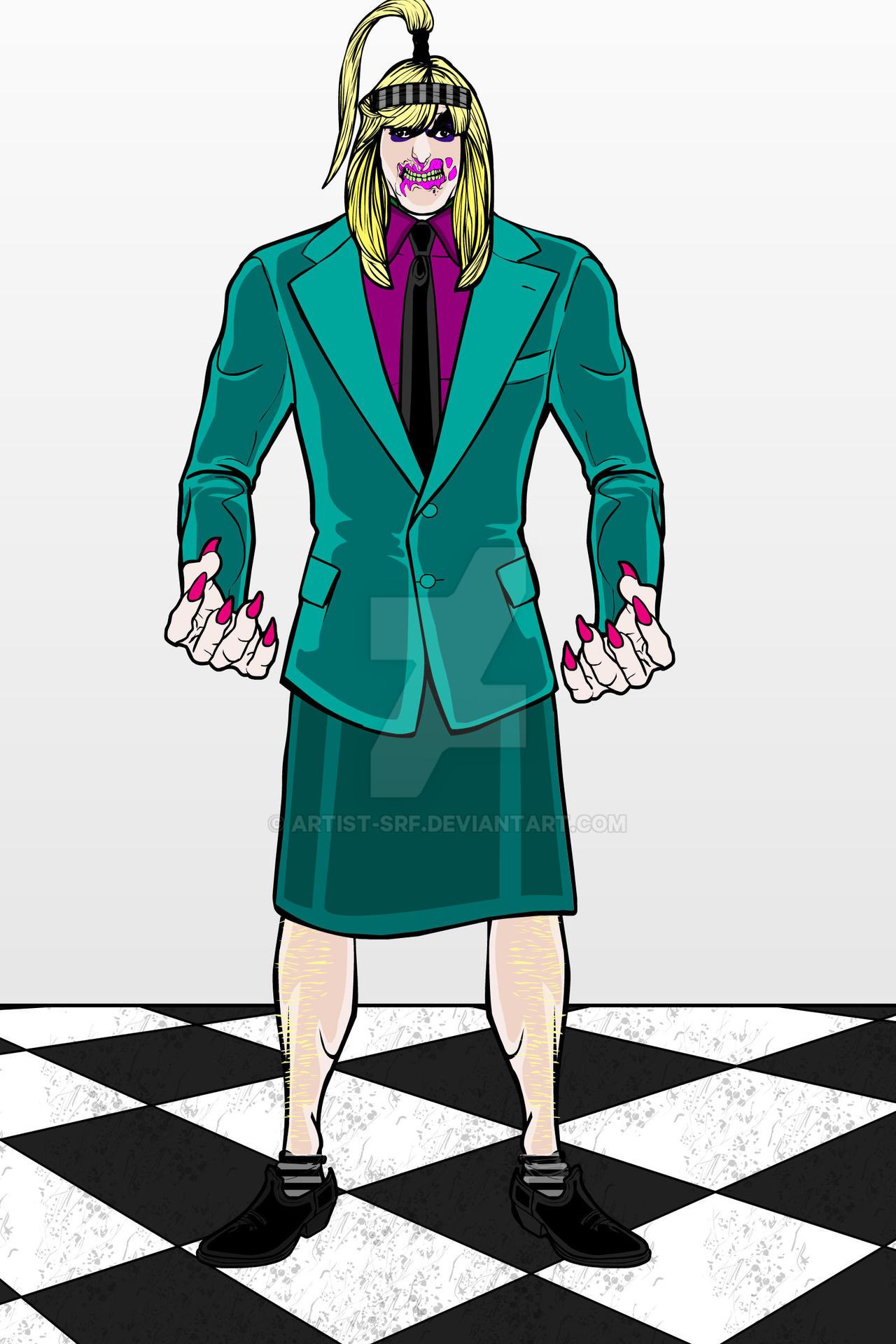 Heromachine: Betty Juice by ARTIST-SRF