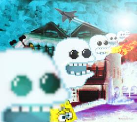 Cute Ghost Invasion! by craigsnedeker