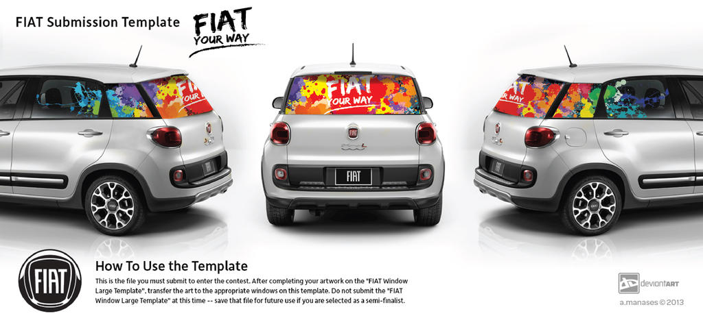 More FIAT More Imagination Contest: FIAT Your Way by emina24