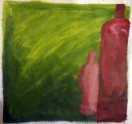 Bottles by Tea-Roll