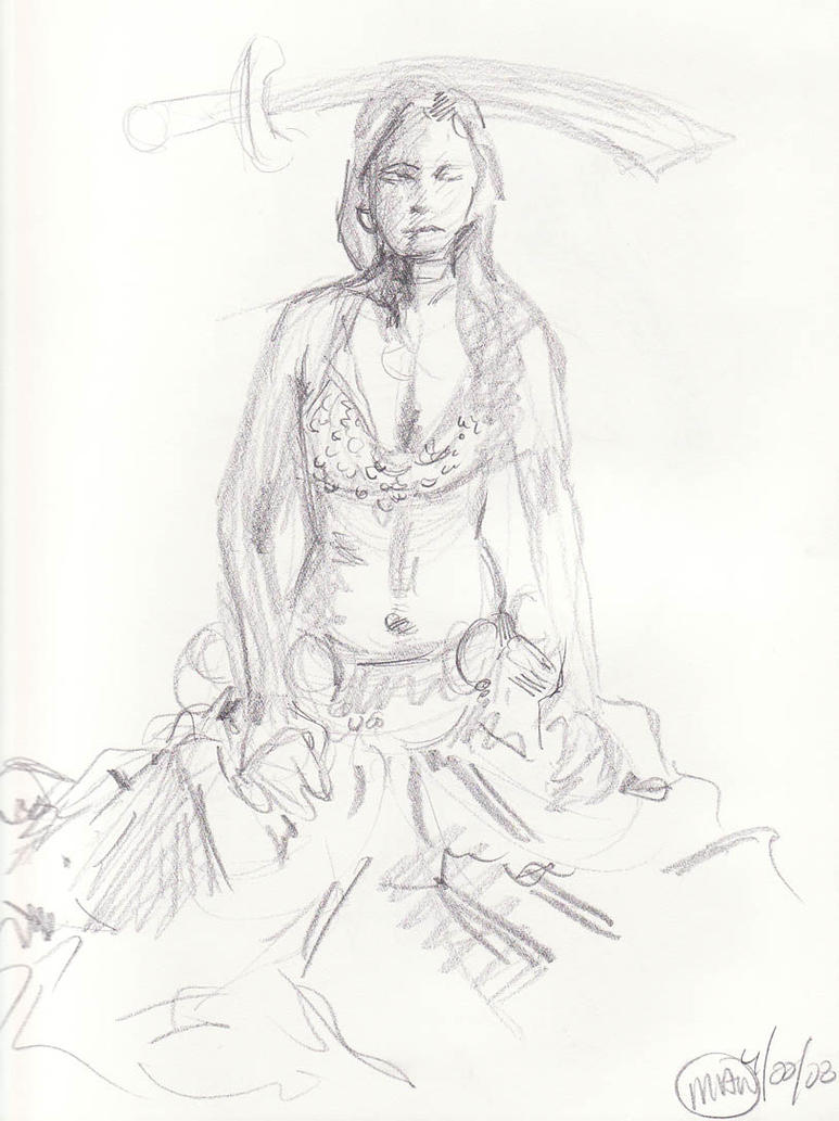 Figure Drawing - Belly...
