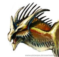 Dragon Portrait 2 by grzanka