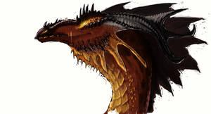 Fire Dragon by grzanka
