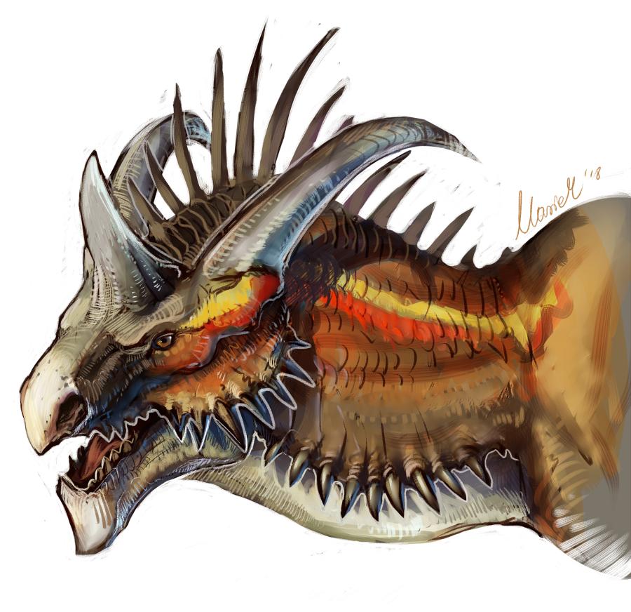 Dragon Portrait 2 ReDo by grzanka