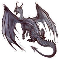 Dragon by grzanka