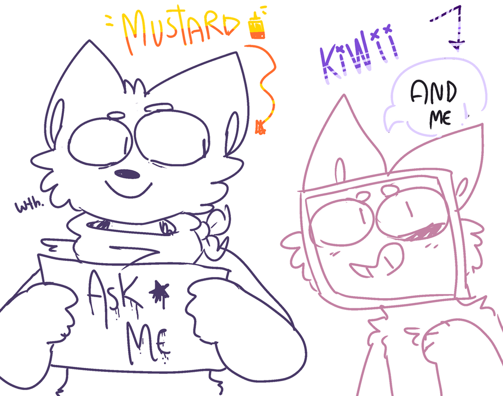 aSK THESE IDIOTS by mustard0