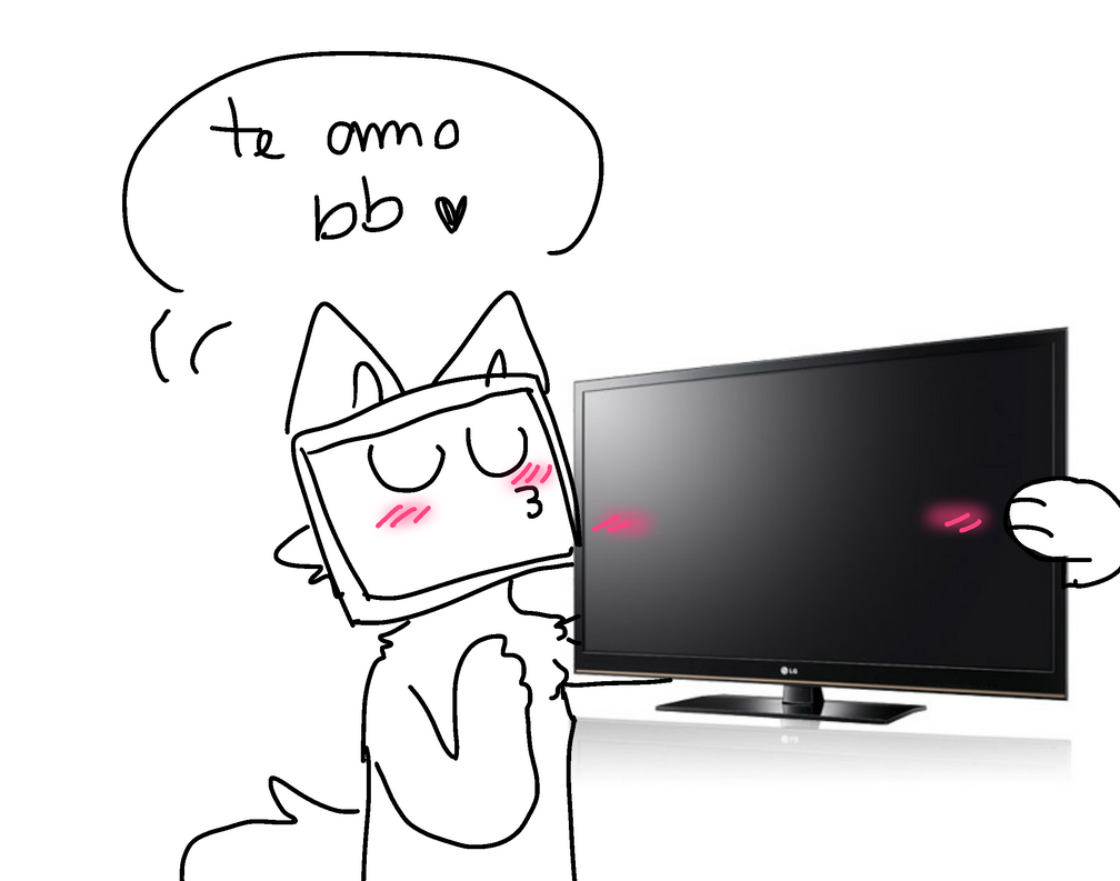 he is in love with a tv  - ask 3 - by mustard0