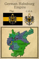 German Habsburg Empire by BrazilianNationalist
