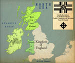 Map of the Celtic Confederation of Britain-Ireland
