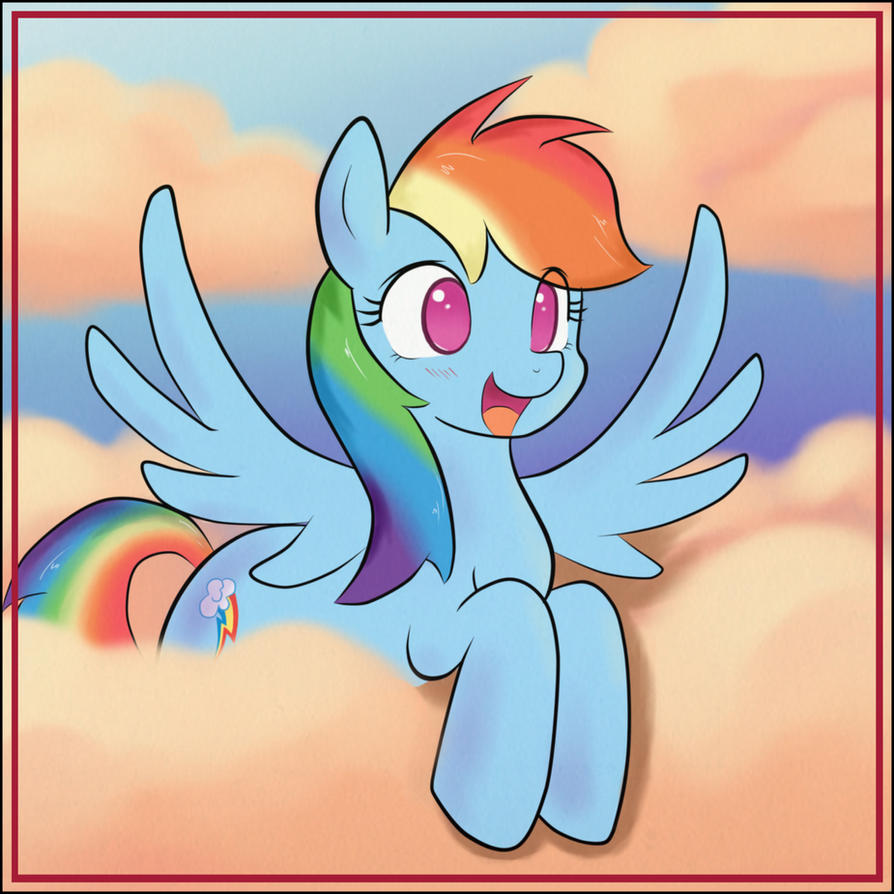 She's a rainbow by Bio-999