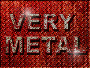 WALLPAPER - Very Metal
