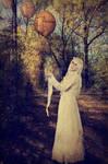 Balloonfairy by RavienneArt
