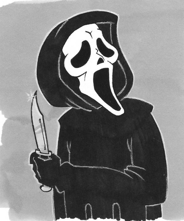 Ghostface Colored by emptypromises13 on DeviantArt