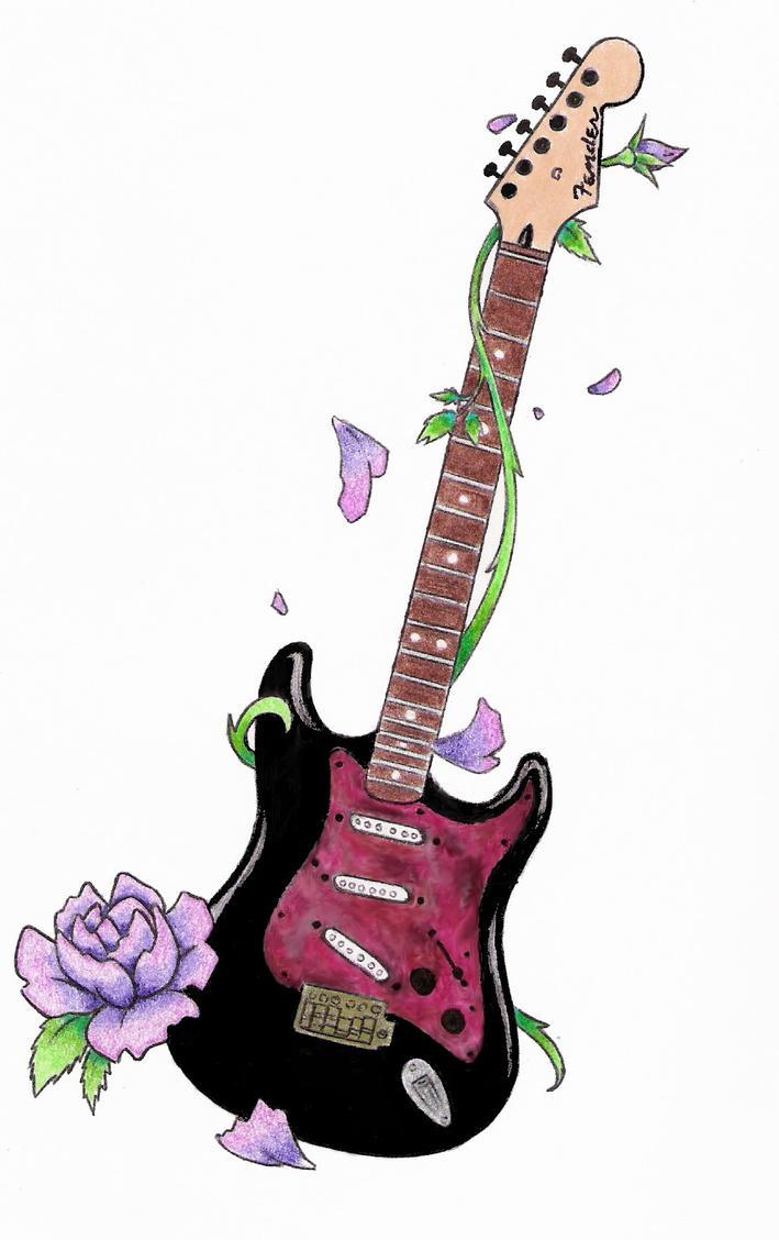 Guitar Designs Art : Guitar tattoo by emptypromises on deviantart