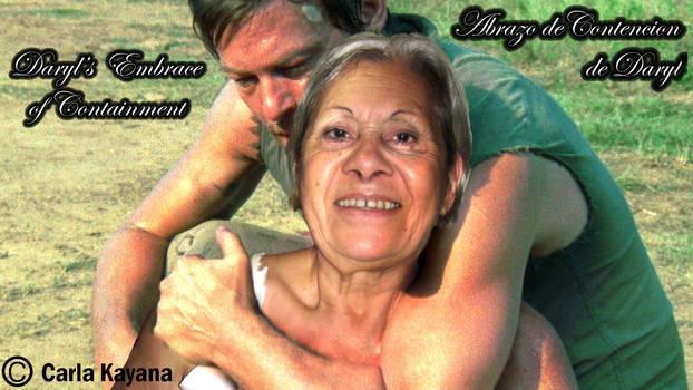 TWD Abrazo de contencion de Daryl