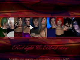 Wall- red sight black curse