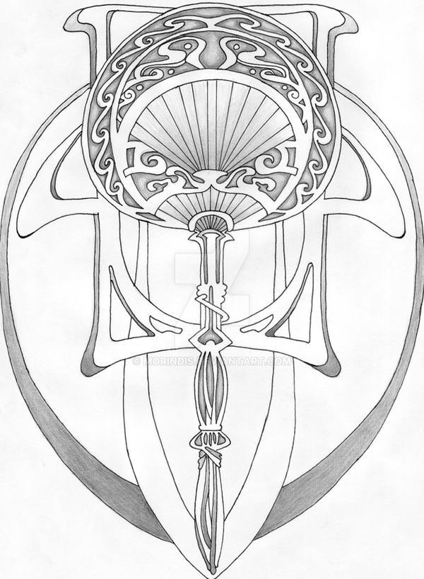 art nouveau design 1 by morindis on deviantart