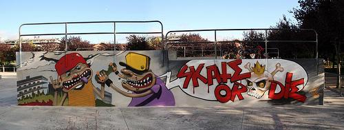 skate or die by pin-dbr