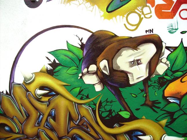 jump like a monkey by pin-dbr