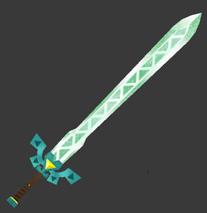 [3D Preview] Lokomo Long Sword (Spirit Tracks)