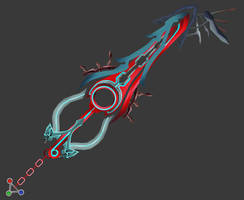 [Model Preview] Xenoblade Keyblade - Mighty Monado by makaihana975