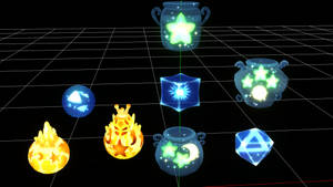 [MMD Download] KH Potions Ethers and Elixirs by makaihana975