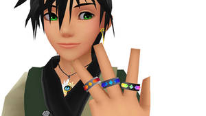 [MMD DL] KH2 Accessory - Ring (Type 2)