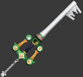 [3D Preview] Dawn Til Dusk (KH3 Keyblade) by makaihana975
