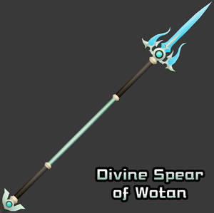 [3D Preview] Xaldin Lance - Spear of Wotan (hack)