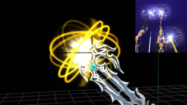 [MMD Test] Keyblade Effect version 1 by makaihana975