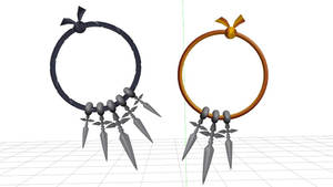 [MMD DL] KH2 Accessories - Shock Charms