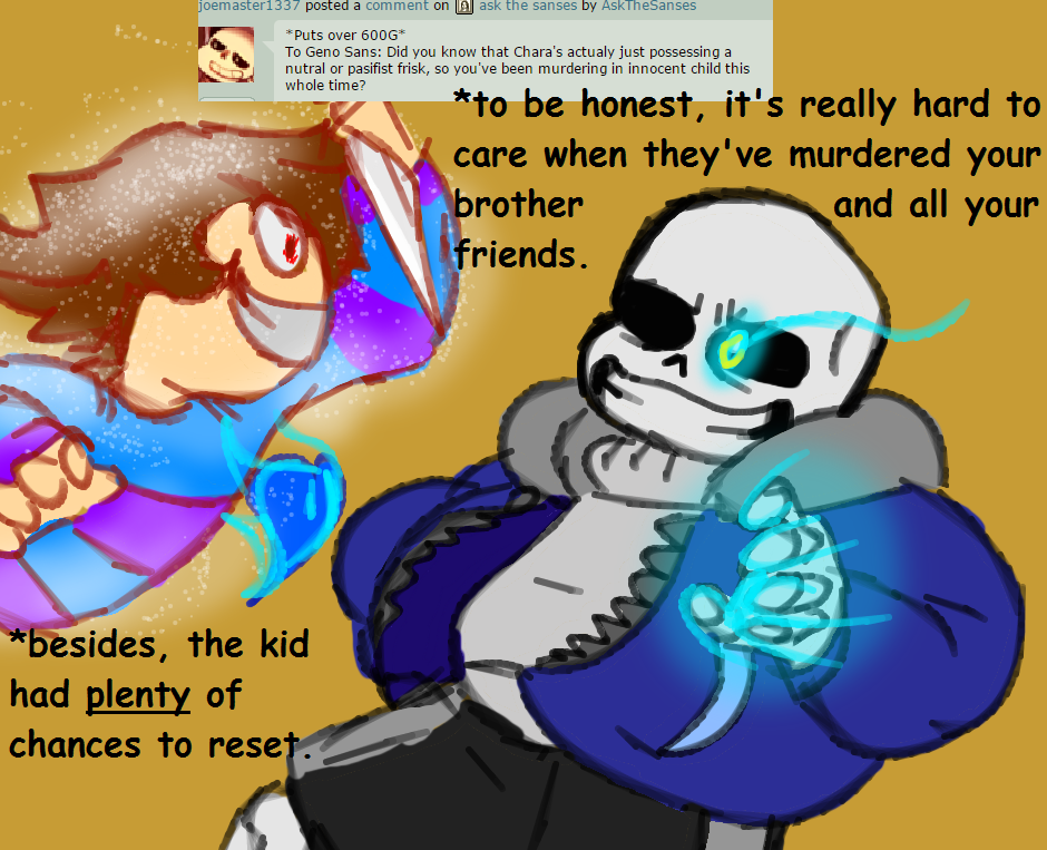 Ask Genocide Sans 12 by AskTheSanses on DeviantArt