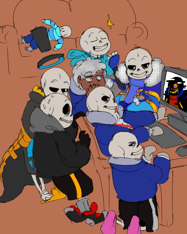 First Sans Group Pic by AskTheSanses