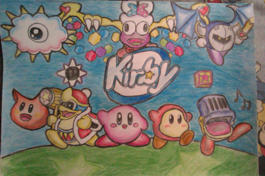 Retro-Kirby by Adripika