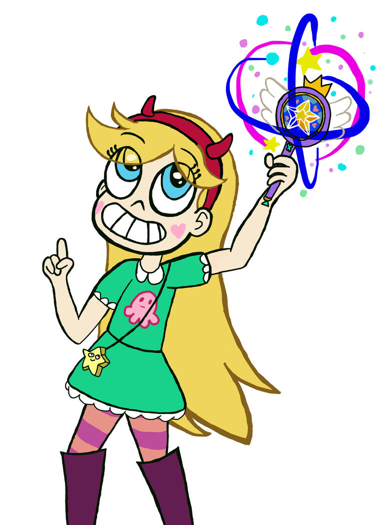 Star Butterfly on fire :3 | SvsTFOE by Adripika