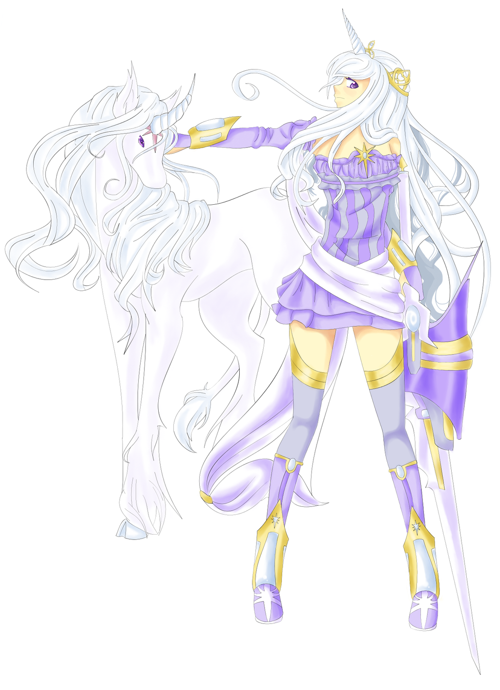 Lady Amalthea by VynalLine