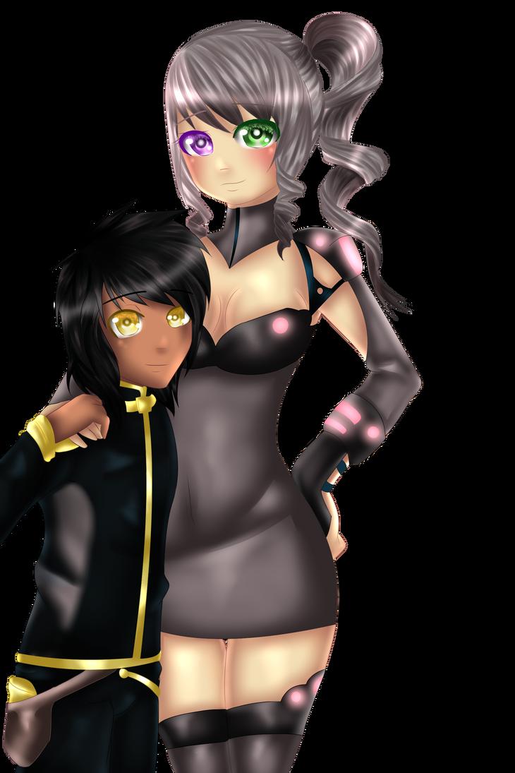 Duke and Kiara by VynalLine