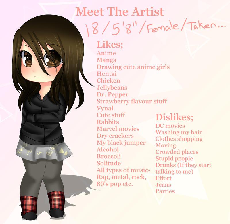 Meet the Artist by VynalLine
