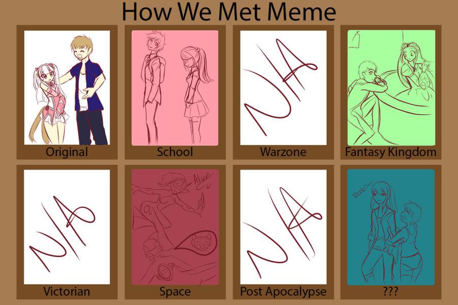 How We Met Meme by VynalLine