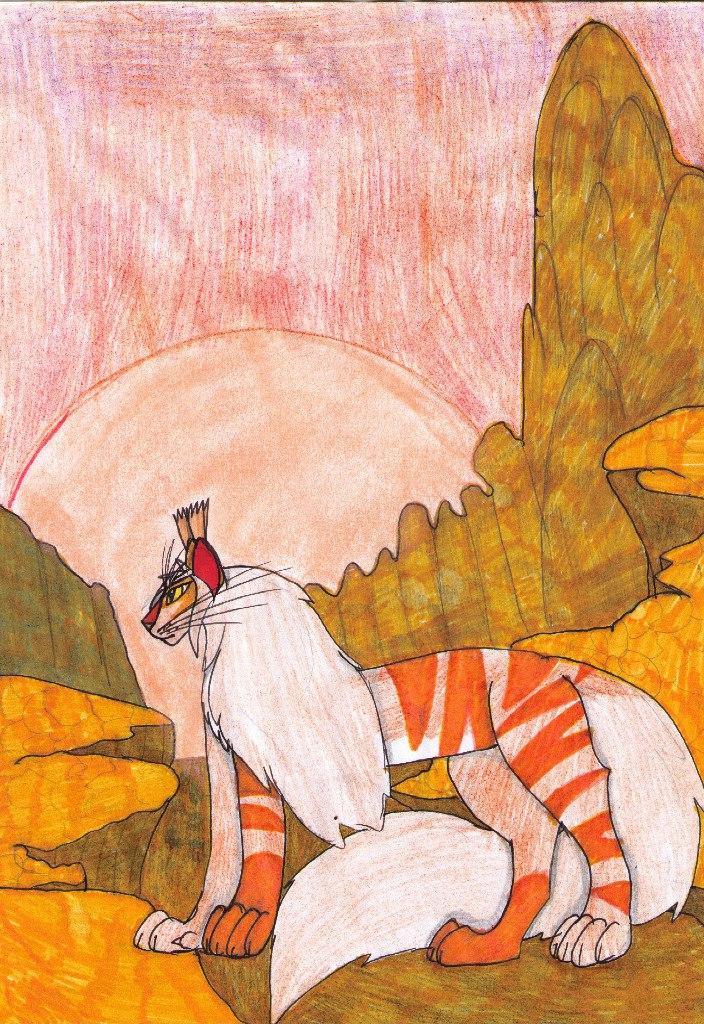 Firegem's journey by MainecoonLena