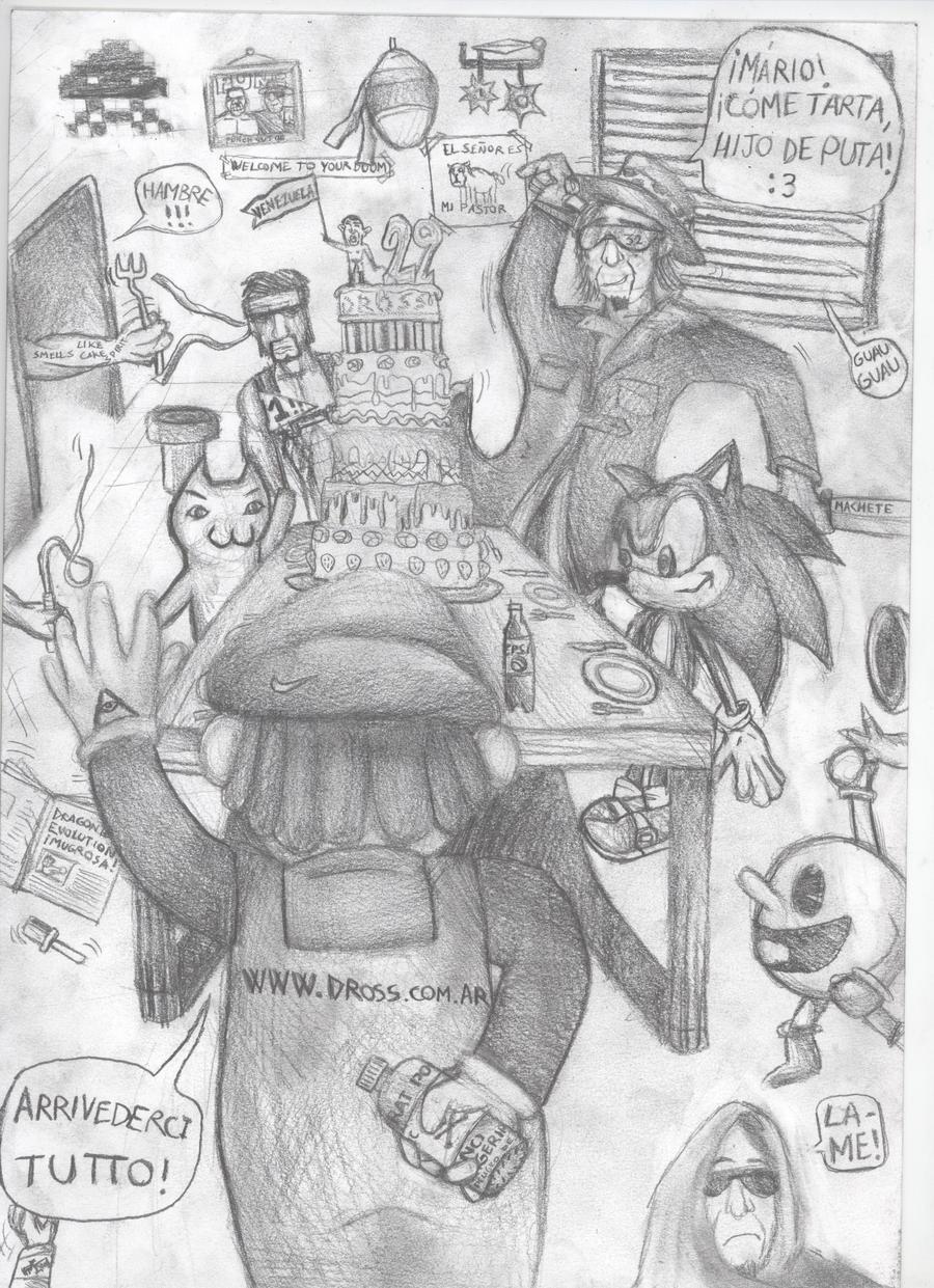 scremshots  - Página 2 Dross_corrupted_birthday_xd_by_polikosaurio-d3t7xkc